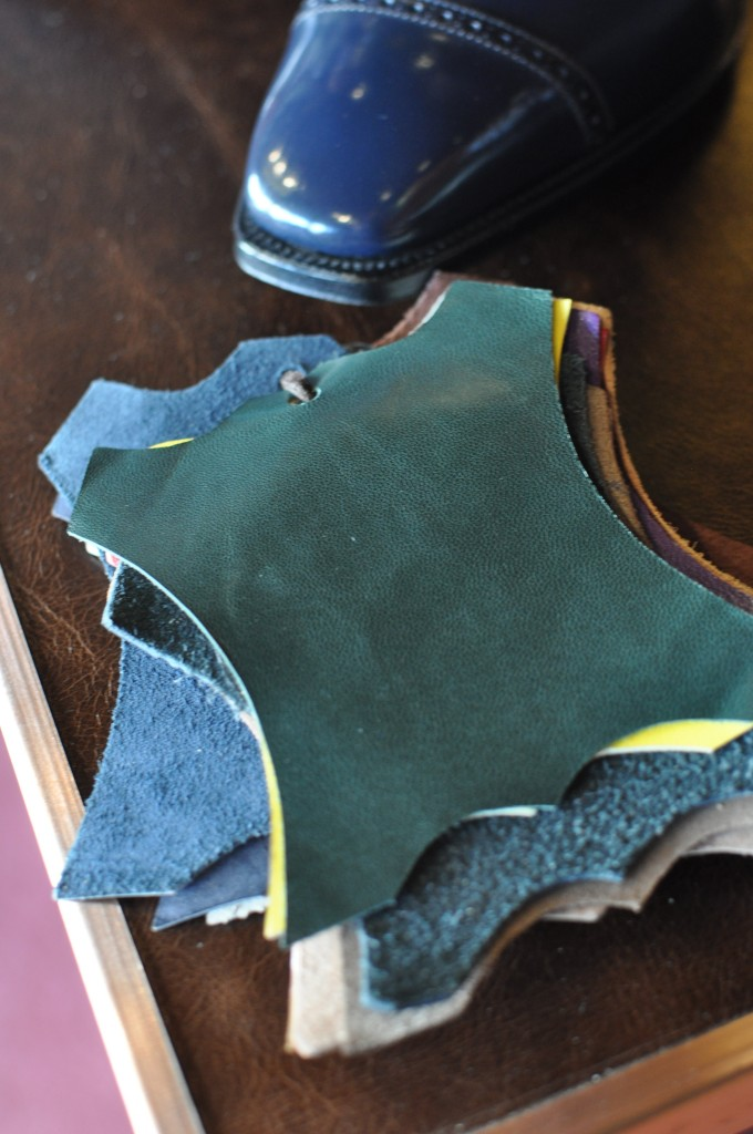British Racing Green lining