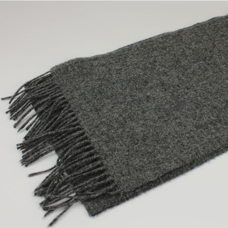 My grey lambswool Johnsons of Elgin scarf (from exquisitetrimmings.com)