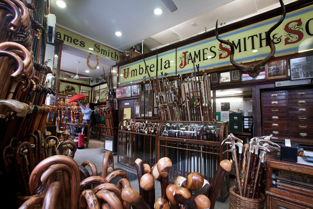James Smith and Sons interior