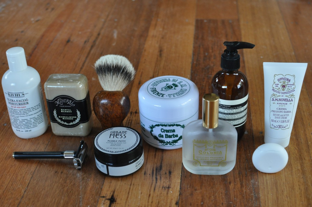 Travel Light: Most of my everyday toiletries